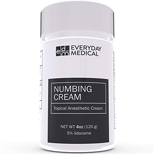 Everyday Medical Numbing Cream - 5% Lidocaine Topical Anesthetic...