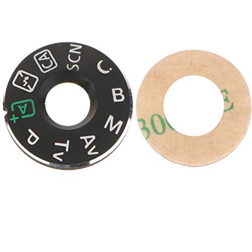 Shenligod Mode Dial Plate Interface Cap Button Replacement Part for Canon EOS 70D Camera Repair Accessori