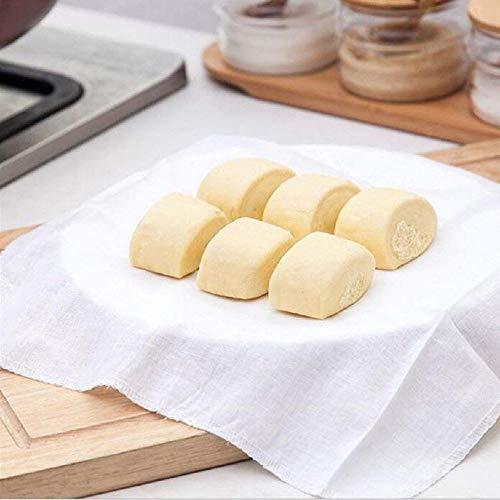 asentechuk®- und atmungsaktiv Dampfgarer Reis Klöße Gaze Filter Dampfgarer Baumwolle Stoff