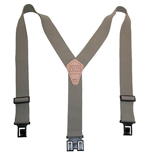 Perry Suspender - Bretelles - Homme taille unique - Beige - Peau - moyen