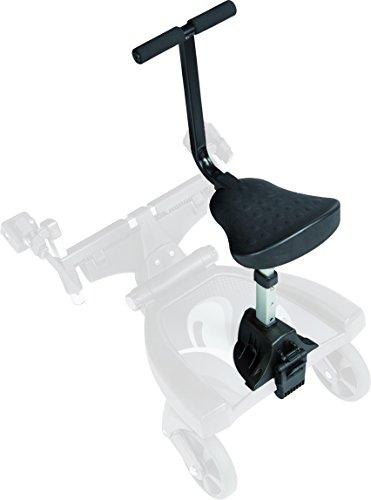 Fillikid Buggy-Board 180° mit 3fach verstellbaren Sitz | Filliboard Mitfahrbrett | Mitfahrbrett universal für Kinderwägen & Buggies & Sportwagen, Größe:Zusatzsitz