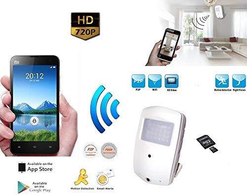 Micro Telecamera Spia Occultata P2P con Visione Remota su Smartphone iPhone Cellulare Tablet iPad Microcamera Minicamera Spia