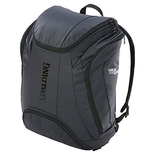 Spalding Unisex-Erwachsene Premium Rucksack, Schwarz (Negro), 15x24x45 Centimeters (W x H x L)