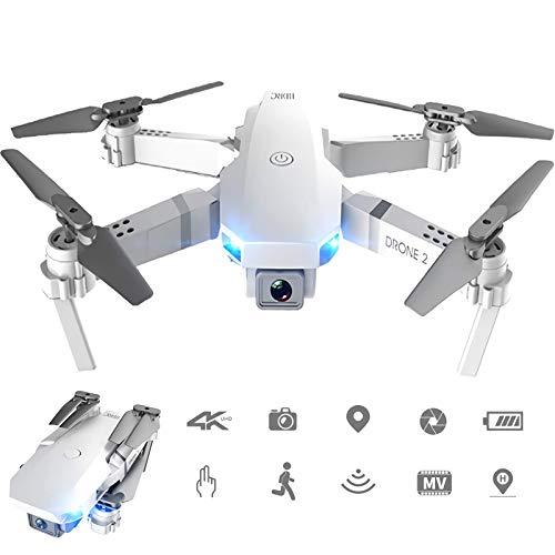 THE MOVAC Drone 4K HD E59 RC Cámara Fotografía aérea Profesional Selfie WiFi / App FPV Helicóptero 360 ° Flip