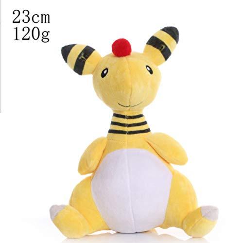LMSX Pokemon Pikachu Ampharos Plüschtier 23Cm, Cartoon Anime Dragon Gefüllte Puppe Für Kinder Weihnachten Geburtstagsgeschenk