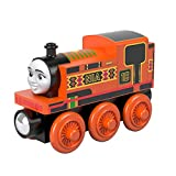 Il Trenino Thomas Wood Nia, Locomotiva in Legno a Ruota Libera, Giocattolo per Bambini 3+ Anni, GGG31