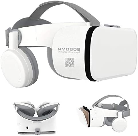 3D Virtual Reality Headset 3D VR Glasses Viewer with Built in Remote Bluetooth for iOS iPhone product image