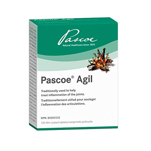 Pascoe – Pascoe-Agil – A Herbal Remedy Traditionally Used to Help Treat Inflammation of the Joints – Help Relieve Painful Joints, Inhibit Inflammation In Joints And Improve The Mobility Of Joints – Contains 240mg Of Devil's Claw (Harpagophytum Procumbens) Dry Extract Per Tablet – equivalent to 1056-1200 mg Of Devil's claw root per tablet – 100 tablets