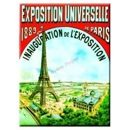 Cartexpo - MAGNET PARIS EXPOSITION UNIVERSELLE 6 x 8 - Cartexpo - MM227