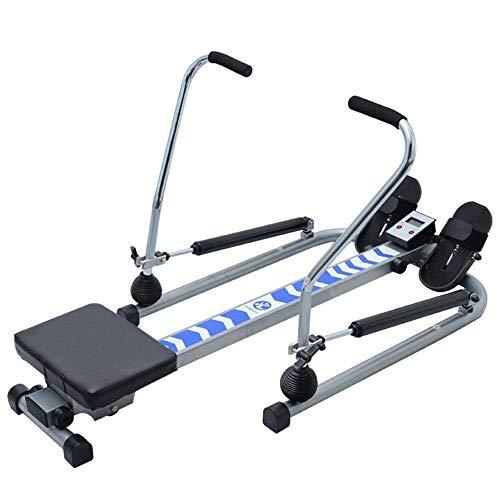 Máquinas de remo plegables Banco de abdominales plegable Fitness Resistencia al agua Máquina de remo en interiores Entrenamiento aeróbico de los músculos abdominales Moldeado Equipo de fitness interio