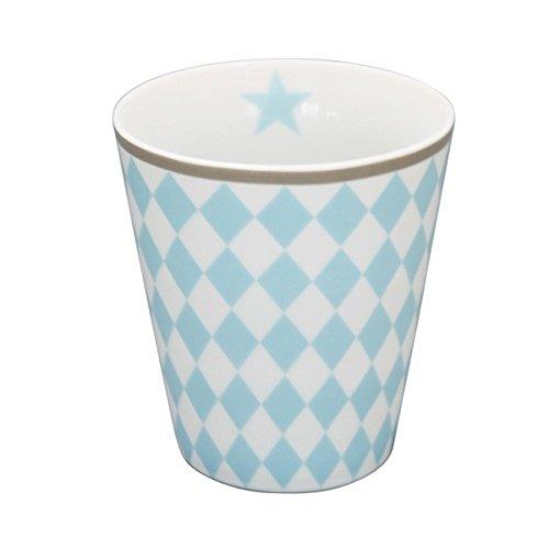 Krasilnikoff Mug, Blue Harlekin 10 cm [P][W]