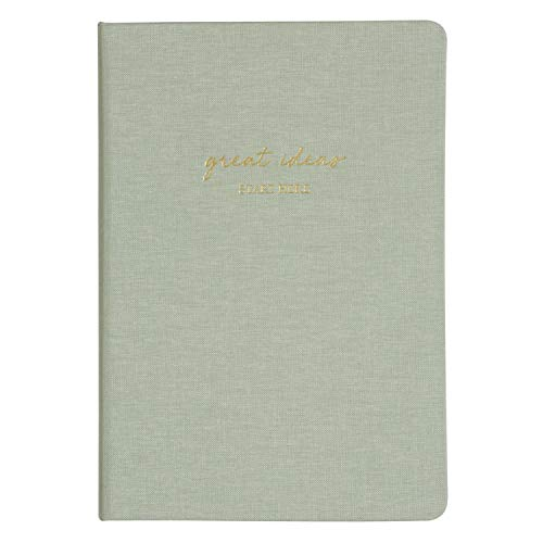 Matt Notebook, klassisches Notizbuch zum Schreiben, Größe: 14 x 20 cm, A5, 176 Seiten, Hardcover, feines Premium in 12 verschiedenen Farben, Innentasche, Qualitätspapier
