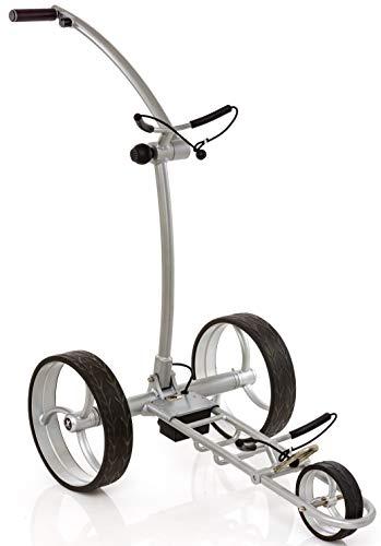 Leisure Golf Elektro Golftrolley Falcon Slim Line (Silber)
