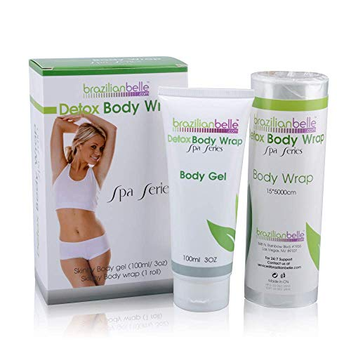 Detox Body Wrap Skinny Body gel Skinny - Contouring Wraps to Get Rid of Belly Fat and Visibly...