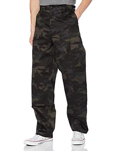 Brandit US Rangerhose Pantaln de Vestir, Darkcamo, XXXXXXXL para Hombre