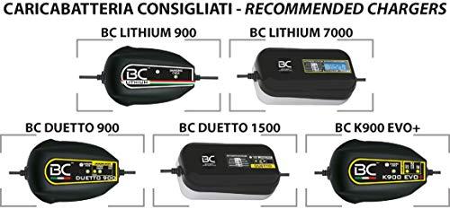 BC Lithium Batteries BCT12B-FP Batería Litio para Moto LiFePO4