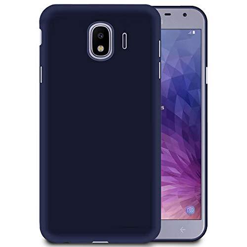 Handy-Hülle in Dunkelblau für Samsung Galaxy J2 Core | Ultra-Slim Mat Case