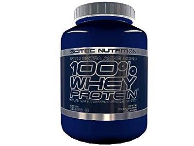 Scitec Nutrition 100% Whey Protein Proteína Chocolate Blanco - 2350 g