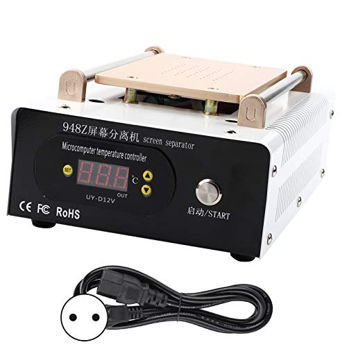 Estink Máquina separadora LCD de 8 pulgadas, separador de vacío, bomba integrada, separador de vacío, máquina de reparación de pantalla, 4,3 x 7,5 pulgadas