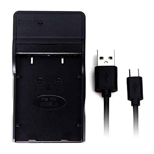EN-EL5 USB Cargador para Nikon Coolpix 3700, 4200, 5200, 5900, 7900, P100, P3, P4, P500, P5000, P510, P5100, P520, P6000, P80, P90, S10 cámara