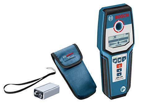 Bosch Professional GMS 120 - Detector digital (detección máx. 12 cm, autocalibración, con funda)
