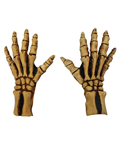 Horror-Shop Gants en Squelette osseux