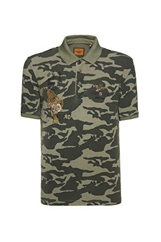 Aeronautica Militare Polo de manga corta Pilot Camouflage Am