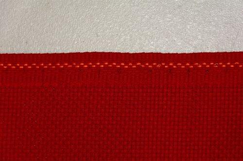 De Noël Rouge 14 fils Zweigart Aida point de croix Motif Fat Quarter 55 cm x 50 cm (53,3 x 48,3 cm)