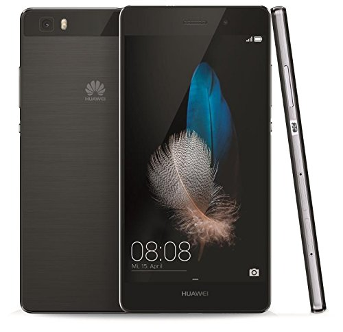 Huawei P8 lite Smartphone, 5,0 pollici IPS, Dual sim, Processore Octa-Core, 16 GB, 13 MP, Android 5.0, Nero