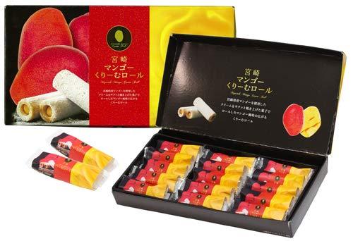 マンゴーくりーむロール 15本入 宮崎空港商事 クリーム 焼き菓子 ケーキ 宮崎 お土産