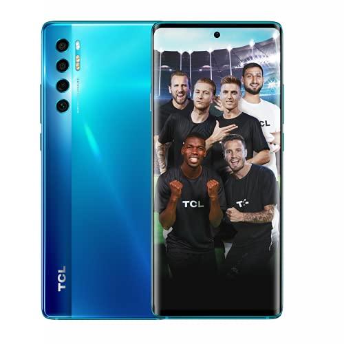 """TCL 20 Pro 5G 256GB - Smartphone de 6.67"""" AMOLED FHD+ con NXTVISION (Snapdragon 750G 5G, 6GB/256GB Ampliable MicroSD, Dual SIM, Cámaras 48MP+16MP+5MP+2MP, Batería 4500mAh, Android 11) Azul"""