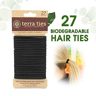 Biodegradable Elastic Hair Ties