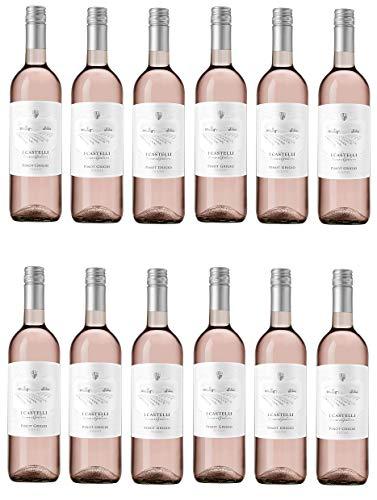 12x 0,75l - I Castelli Romeo e Giulietta - Pinot Grigio Blush - Veneto I.G.P. - Italien - Rosé-Wein trocken