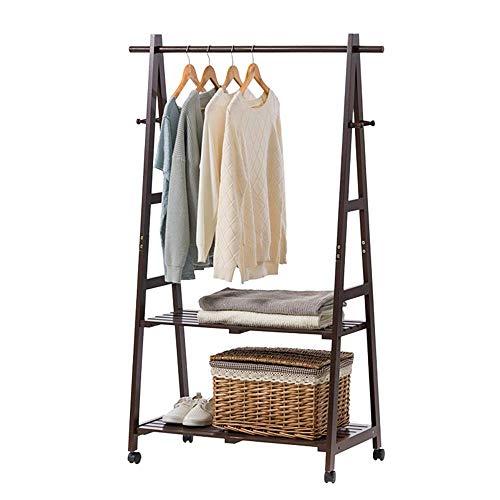 GENFALIN Ropa de Almacenamiento en Rack Rack de Zapatos con eyector con 4 Ganchos Inicio Oficina Pasillo Dormitorio Máximo 100 kg Peso de la Carga for el Dormitorio Lavandería (Color: Blanco, Tamaño:
