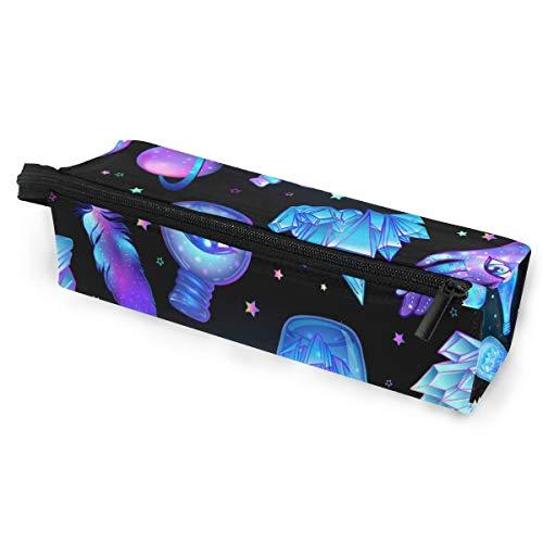 Sonnenbrillen Soft Protector Box Rhombus Federmäppchen Federtasche Iceberg Multifunktionstasche mit Reißverschluss für Studenten, Kinder, Teenager, Mädchen, Frauen, Männer, Jungen