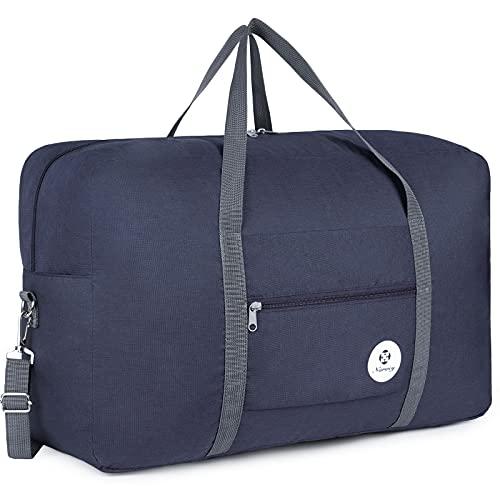Bolsa de viaje plegable, ideal para fines de semana o llevar al gimnasio, perfecta como...