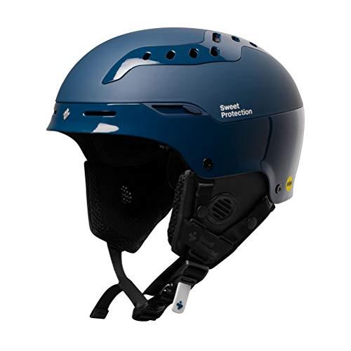 Sweet Protection MIPS Casque de Ski/Snowboard Mixte Adulte Bleu Marine Taille ML