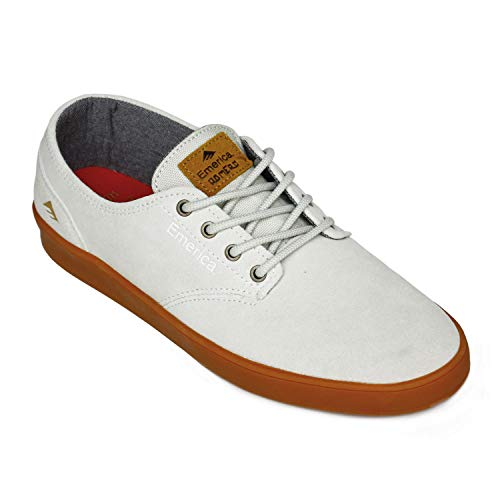 Emerica The Romero Laced, Color: White/Gum, Size: 38 EU / 6 US / 5 UK