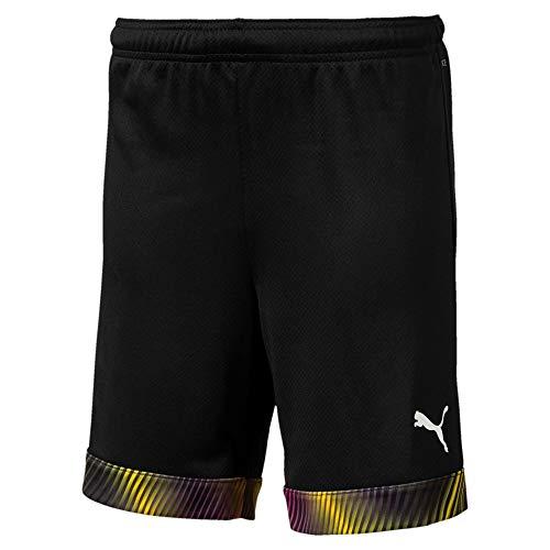 Puma Kinder Cup Shorts Jr Black-Fuchsia Purple, 164