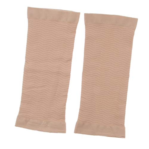 Baoblaze 1Paar Kompressions-Ärmel, Kompressions Armbandage Armstulpe, Atmungsaktiv - Haut