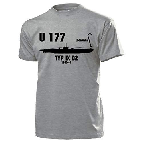 u177 UBoot Marino Tipo IX D2 U de Binadora WK2 Marino