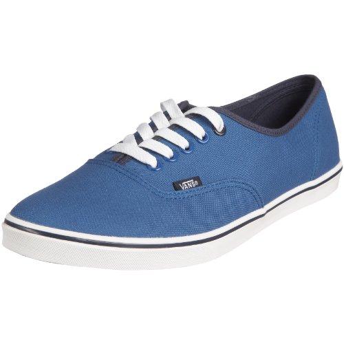 Vans VGYQ1LN 070 - Zapatillas de Deporte de Lona Unisex, Color Azul, Talla 39.5