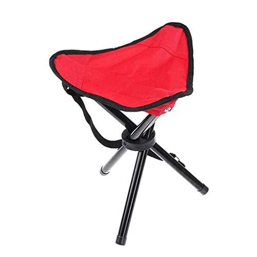 MMAXZ Trípode portátil Plegable Taburete Silla Plegable para Actividades al Aire Libre, como Pesca, Camping, Caza, Senderismo, etc. (1 Paquete) (Color : B)