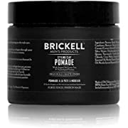 Brickell Men's Styling Clay Pomade For Men, Natural & Organic with Strong Hold & Matte Finish, Product for Modern Hairstyles, 59 ml, Scented