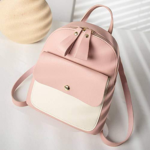 N-B Mini Backpack Women's Wallet, Multi-functional Small Bag, Cute And Fashionable Casual Dayback, PU Leather Anti-theft Waterproof Rucksack, For Ladies And Girls