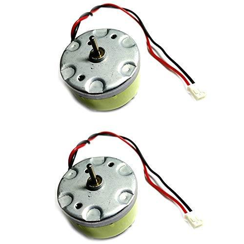 outingStarcase Duradero 2pcs el Motor del Engranaje de transmisión for Robot Limpiador 1ª Mijia Aspirador de Piezas de Repuesto Sensor de la Distancia LDS Accesorios