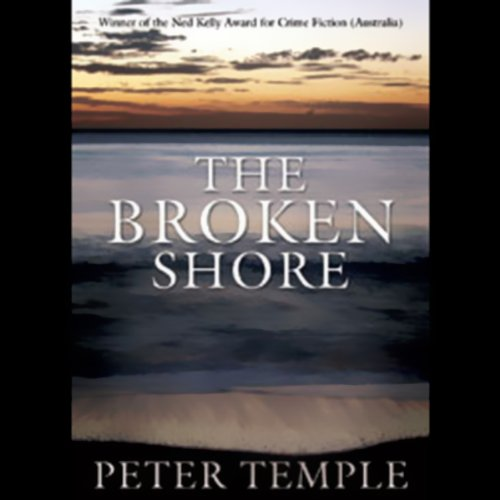 The Broken Shore audiobook cover art