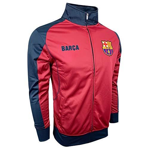 HKY Sportswear inc FC Barcelona Track Jacket Maroon