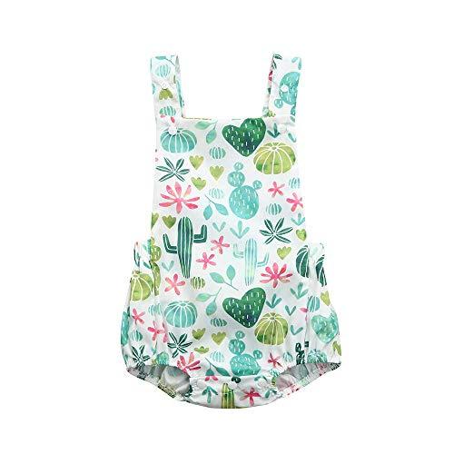 CixNy 0-24 Monate Babyklamotten Kleinkind Baby Mädchen Zitrone gedruckt Strampler rückenfreie Overall Bekleidunsets Outfits