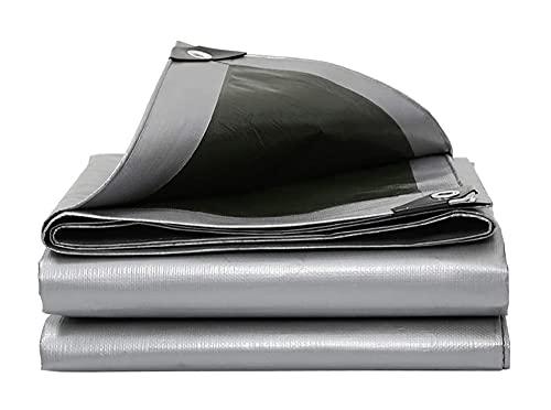 PLMOKN Externe waterdichte handdoek -UV Winter Antivriesbescherming Cover voor Pool Polyethyleen Occhello Metallic Outdoor Pergola, 17 Afmetingen (Kleur: Zilver, Grootte: 3x5m)